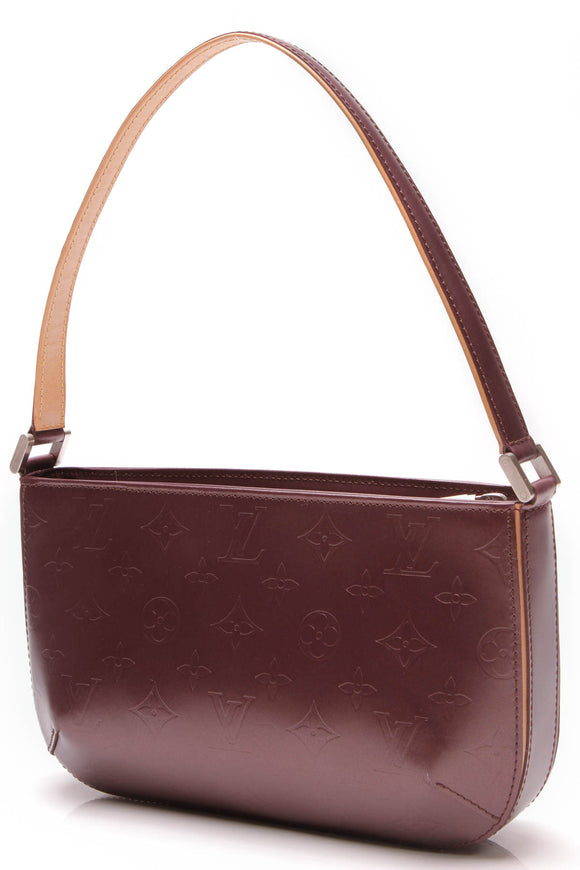 Louis Vuitton Monogram Mat Fowler Bag Violet