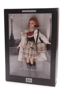 Mattel Limited Edition Burberry Collection Barbie Doll