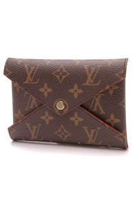 Louis Vuitton Kirigami Medium Pochette Monogram Brown Red