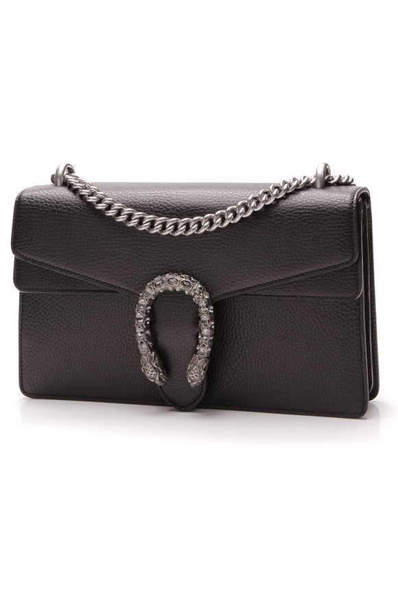 Gucci Dionysus Small Shoulder Bag Black