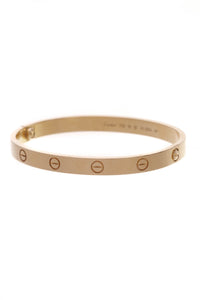 Cartier Love Bangle Bracelet Yellow Gold