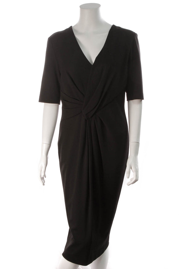 Escada Knot Dress Black Size 42