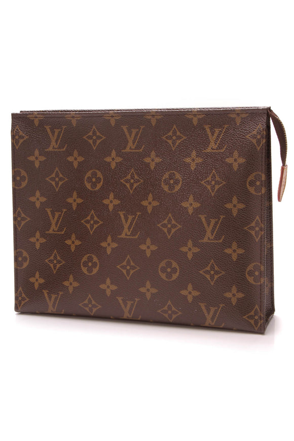 Louis Vuitton Toiletry Pouch 26 Monogram Brown