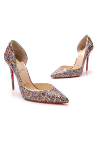 Christian Louboutin Iriza Mosaic d'Orsay Pumps Multicolor Size 38