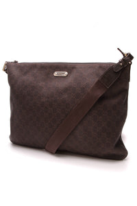 Gucci Messenger Bag Brown Signature Canvas