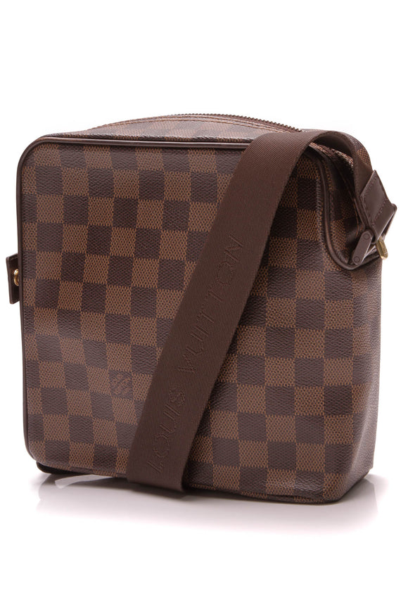Louis Vuitton Olav PM Bag Damier Ebene Brown