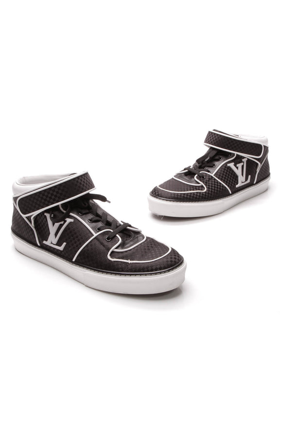 Louis Vuitton Acapulco Men's Sneakers Black White US Size 10