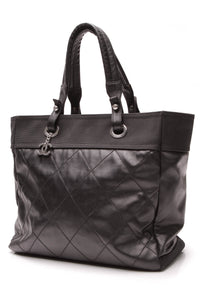 Chanel Paris-Biarritz Large Tote Bag Black