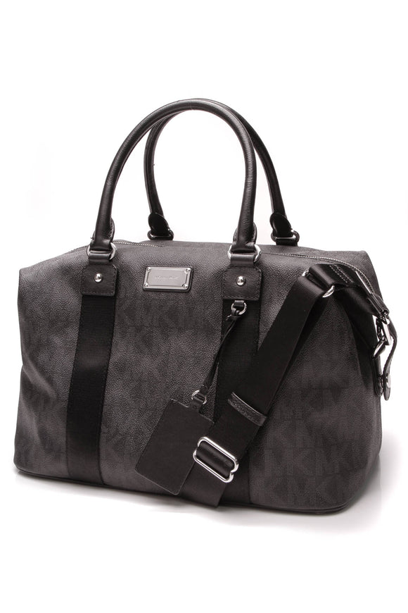 Michael Kors Jet Set Duffle Bag Black