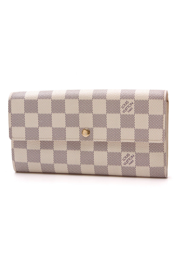 Louis Vuitton Sarah Wallet Damier Azur