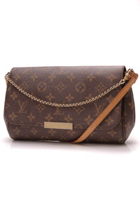 Louis Vuitton Favorite PM Bag Monogram Canvas Brown