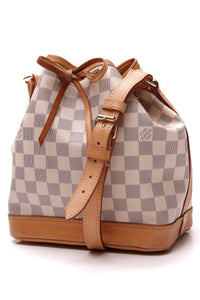 Louis Vuitton Noe BB Bag Damier Azur