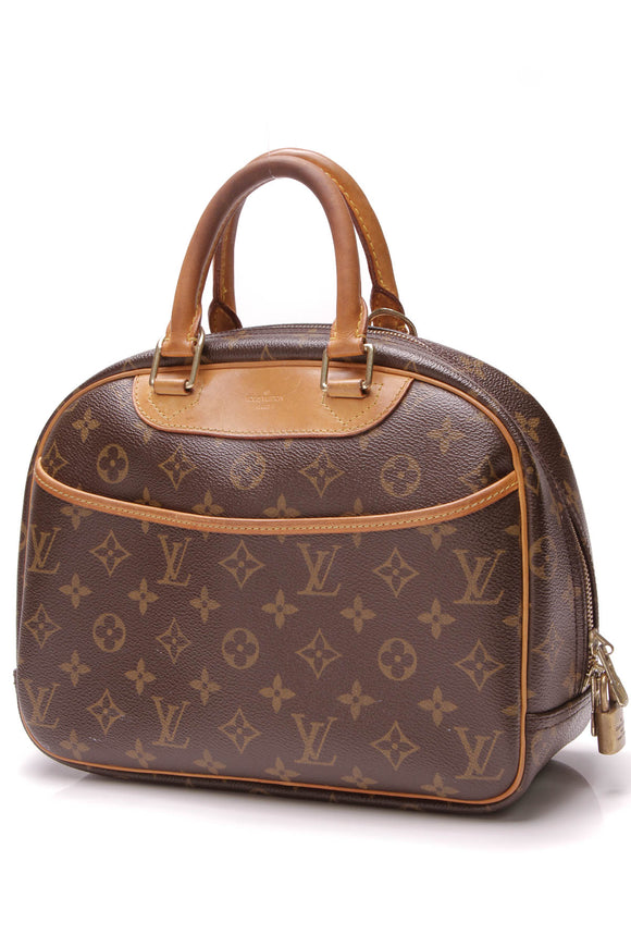 Louis Vuitton Trouville Bag Monogram Brown