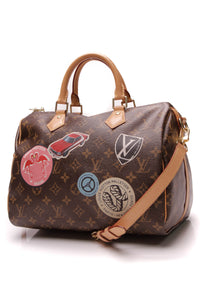 Louis Vuitton World Tour Speedy Bandouliere 30 Bag Monogram Brown