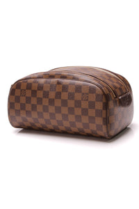 Louis Vuitton King Size Toiletry Bag Damier Ebene Brown