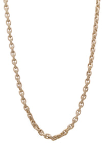Judith Ripka Diamond Romance Link Necklace Yellow Gold
