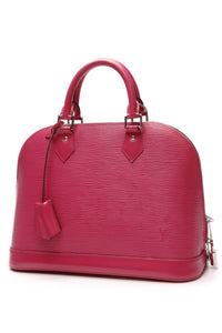 Louis Vuitton Epi Alma PM Bag Pivoine Pink
