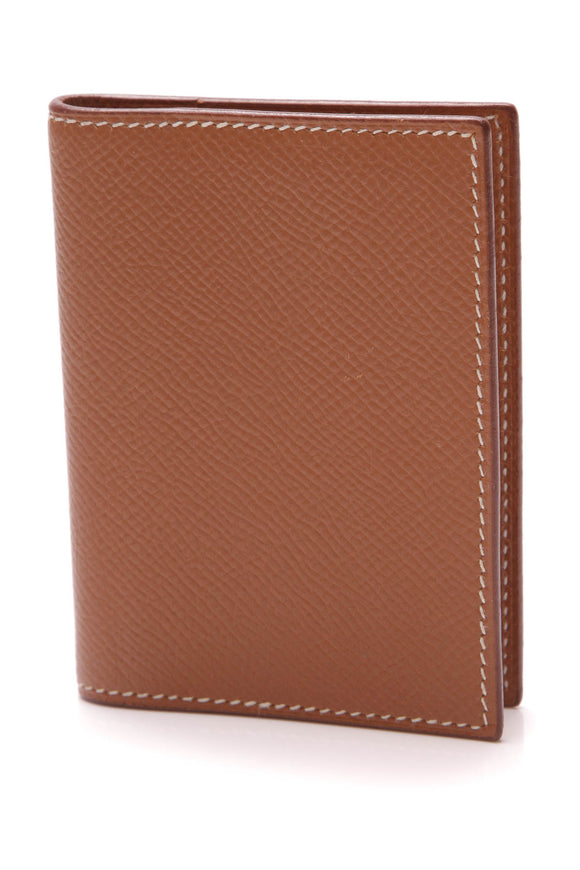 Hermes Mini Grand Modele Agenda Cover Gold Epsom