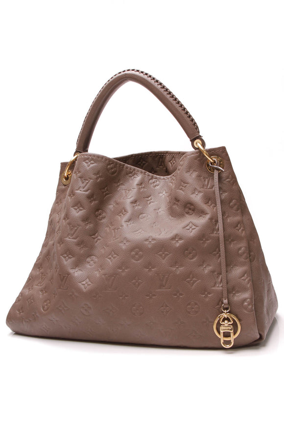 Louis Vuitton Artsy MM Bag Ombre Empreinte Brown