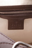 Gucci Large Calf Hair New Jackie Hobo Bag Brown White
