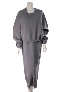 Stella McCartney Sweater Harem Pants Set Blue