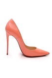 Christian Louboutin So Kate 120 Pumps Flamingo Patent Size 40 Pink