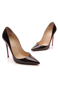 Christian Louboutin So Kate 120 Pumps Black Patent Size 40