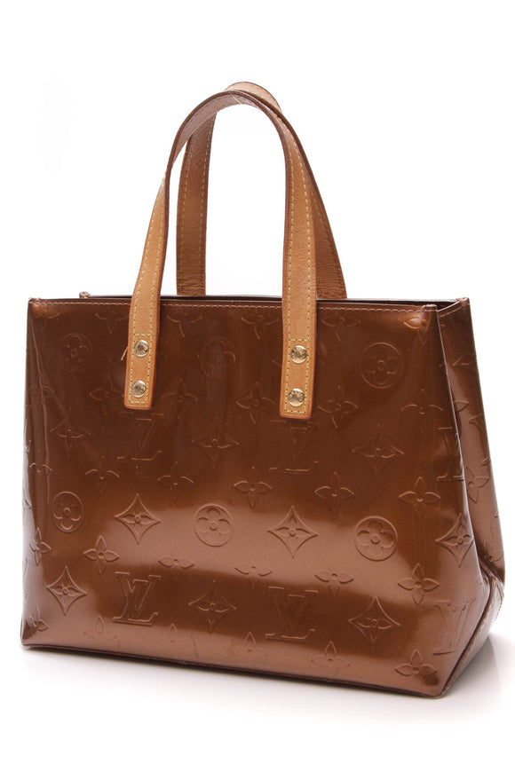 Louis Vuitton Vernis Reade PM Bag Bronze