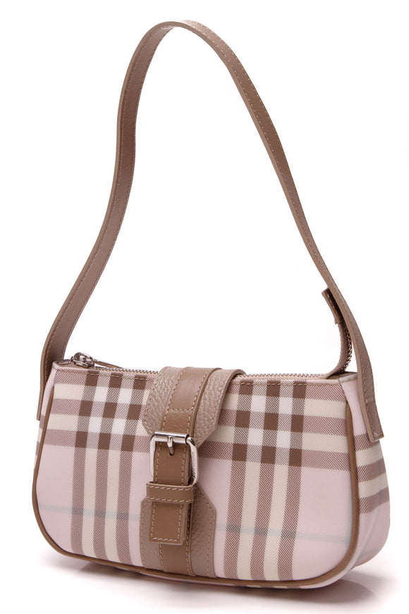 Burberry Mini Shoulder Bag Pink Nova Check