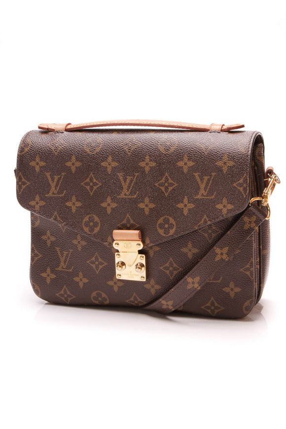 Louis Vuitton Pochette Metis Crossbody Bag Monogram Brown