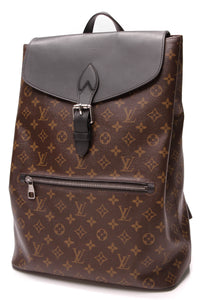 Louis Vuitton Palk Backpack Monogram Macassar Brown Black