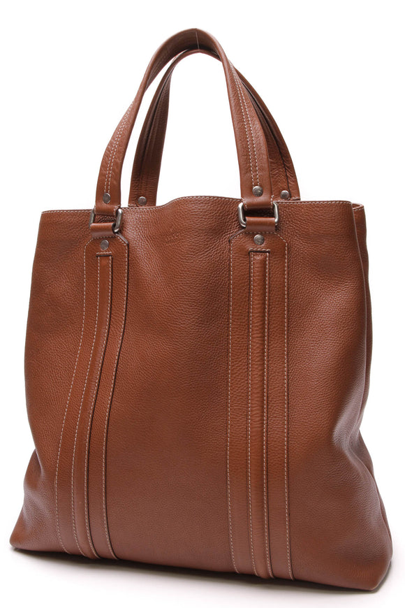 Gucci Large Tote Bag Brown Calfskin