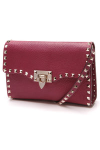 Valentino Rockstud Small Crossbody Bag Magenta