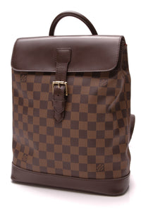 Louis Vuitton Soho Backpack Damier Ebene