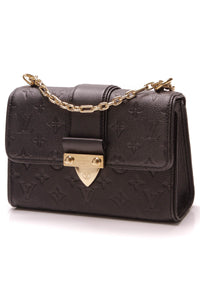 Louis Vuitton Empreinte Saint Sulpice BB Bag Black