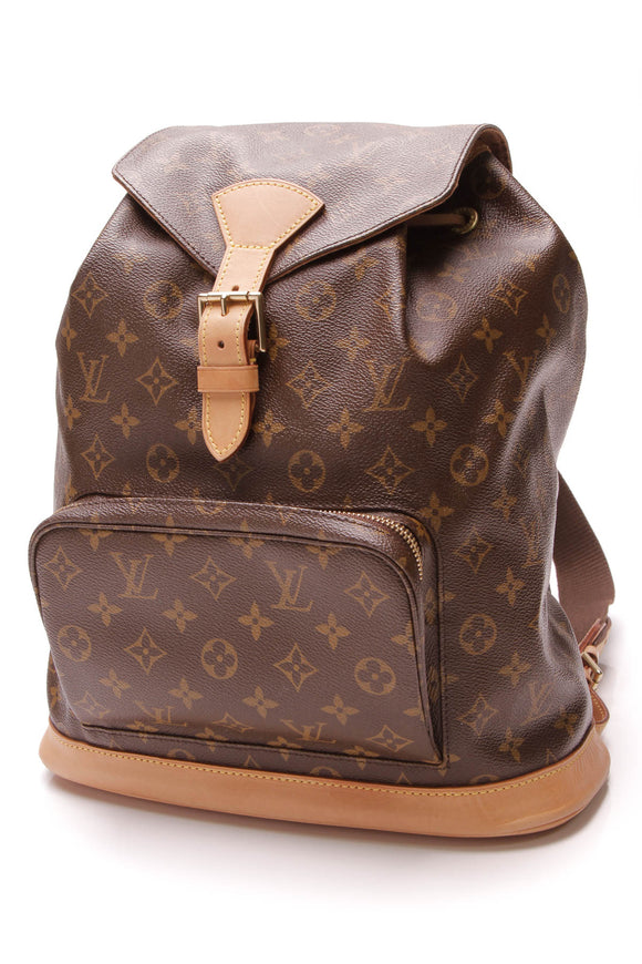Louis Vuitton Montsouris GM Backpack Monogram Brown