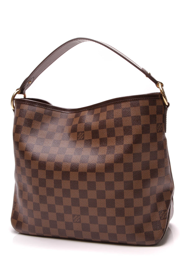 Louis Vuitton Delightful PM Bag Damier Ebene Brown