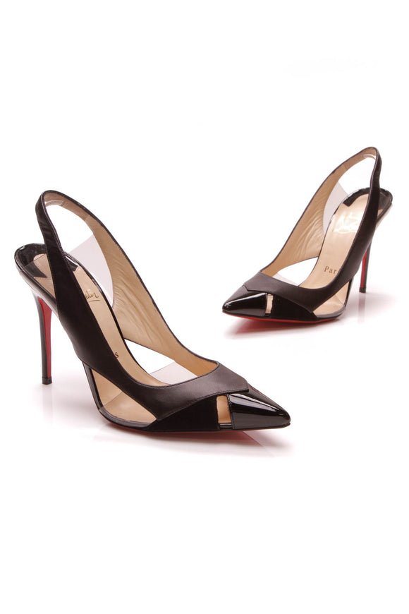 Christian Louboutin Air Chance Pumps Black Size 35.5