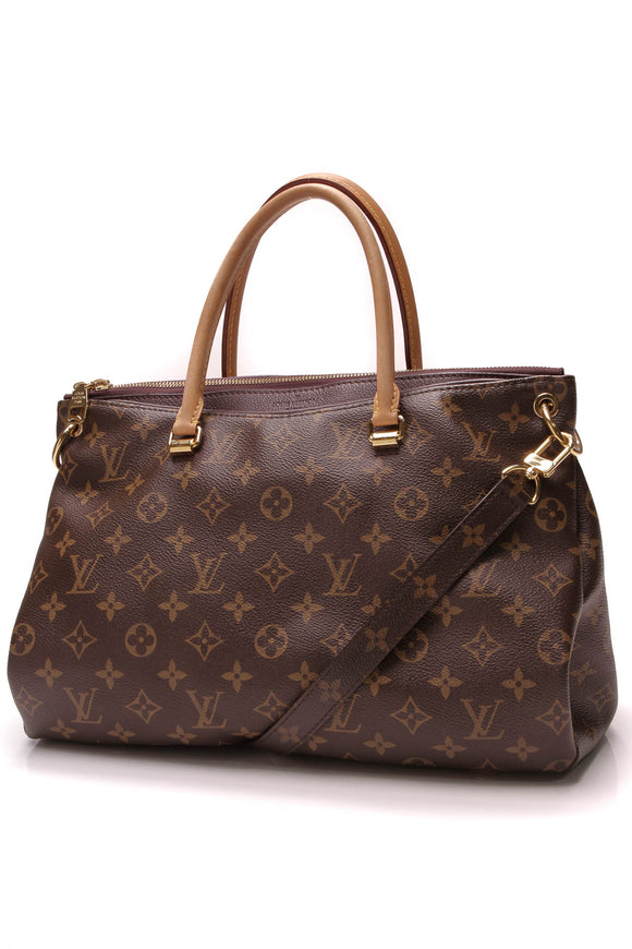 Louis Vuitton Pallas Bag Monogram Aurore Brown Purple