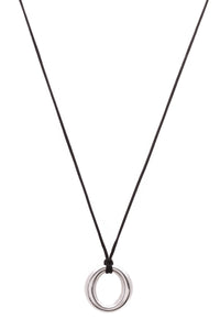 Tiffany & Co. Elsa Peretti Sevillana Medium Pendant Necklace Silver