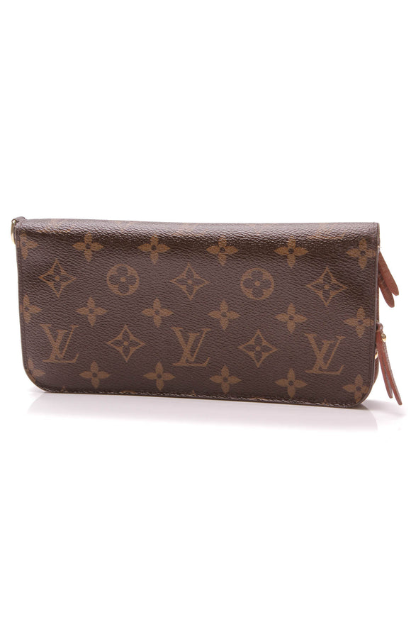 Louis Vuitton Insolite Wallet Monogram Canvas Brown