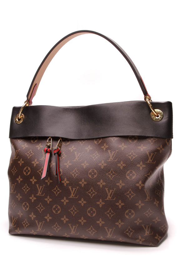 Louis Vuitton Tuileries Bag Monogram Noir Brown Black