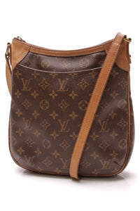 Louis Vuitton Odeon PM Bag Monogram Canvas Brown