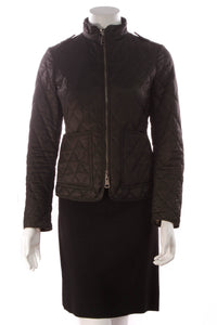 Burberry Quilted Parka Black Size Extra Small
