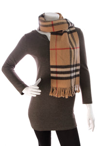 Burberry Classic Check Scarf Tan
