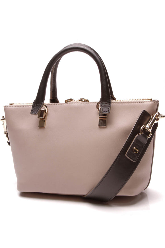 Chloe Baylee Mini Crossbody Bag Taupe Black