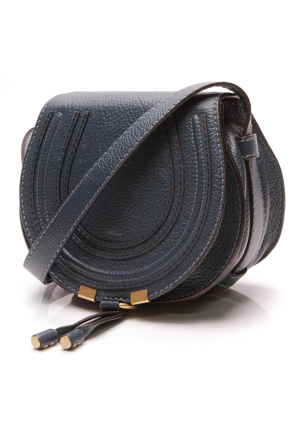 Chloe Mini Marcie Crossbody Bag Dark Teal