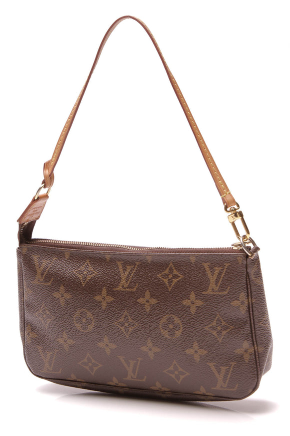 Louis Vuitton Pochette Accessories Bag Monogram Brown