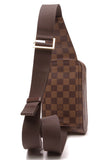 Louis Vuitton Geronimos Bag Damier Ebene Brown