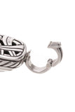 David Yurman 14mm Diamond Hematite Albion Pendant Silver